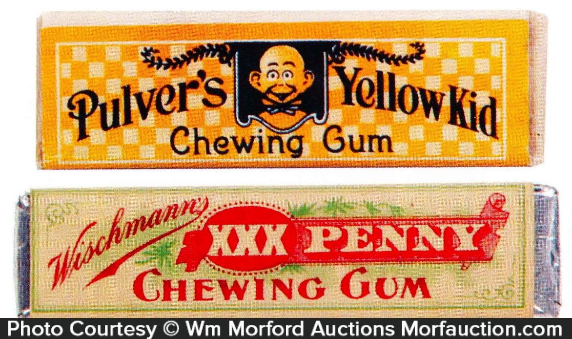 Vintage Gum Sticks