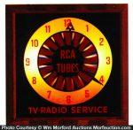 Rca Tubes Light-Up Clock