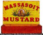 Massasoit Mustard Box