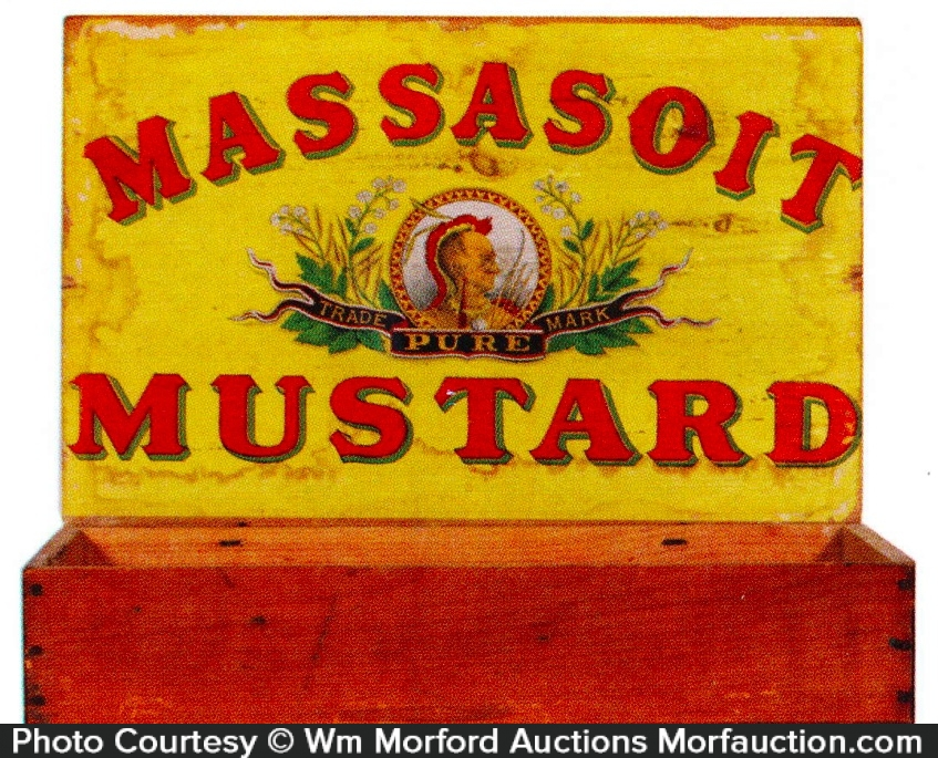 Massasoit Mustard Box
