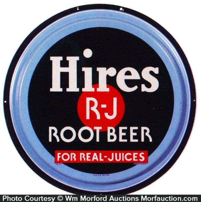 Hires R-J Root Beer Sign