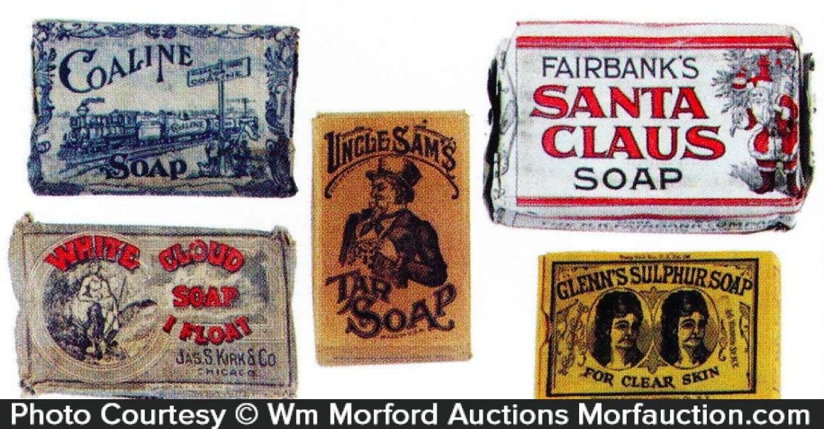 Early Soap Bars