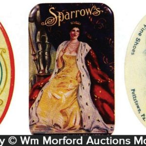 Vintage Pocket Mirrors