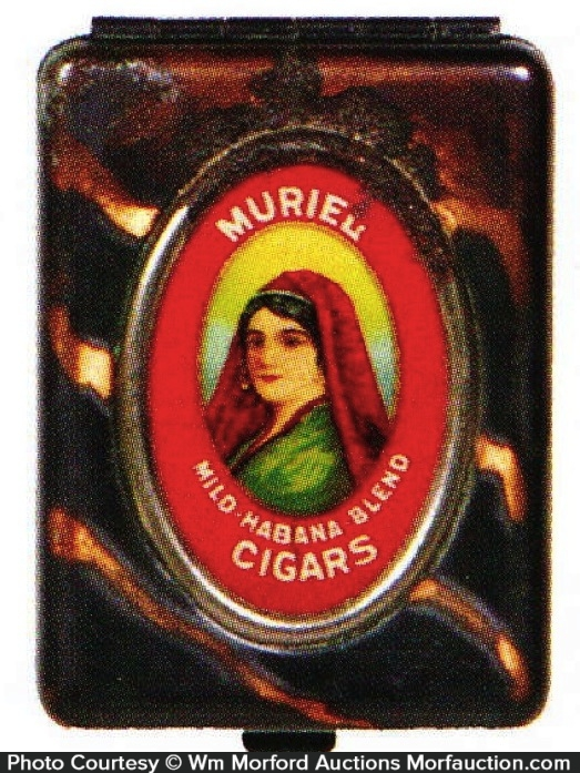 Muriel Cigars Match Safe