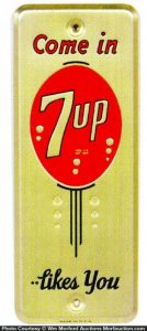 7Up Likes You Door Push