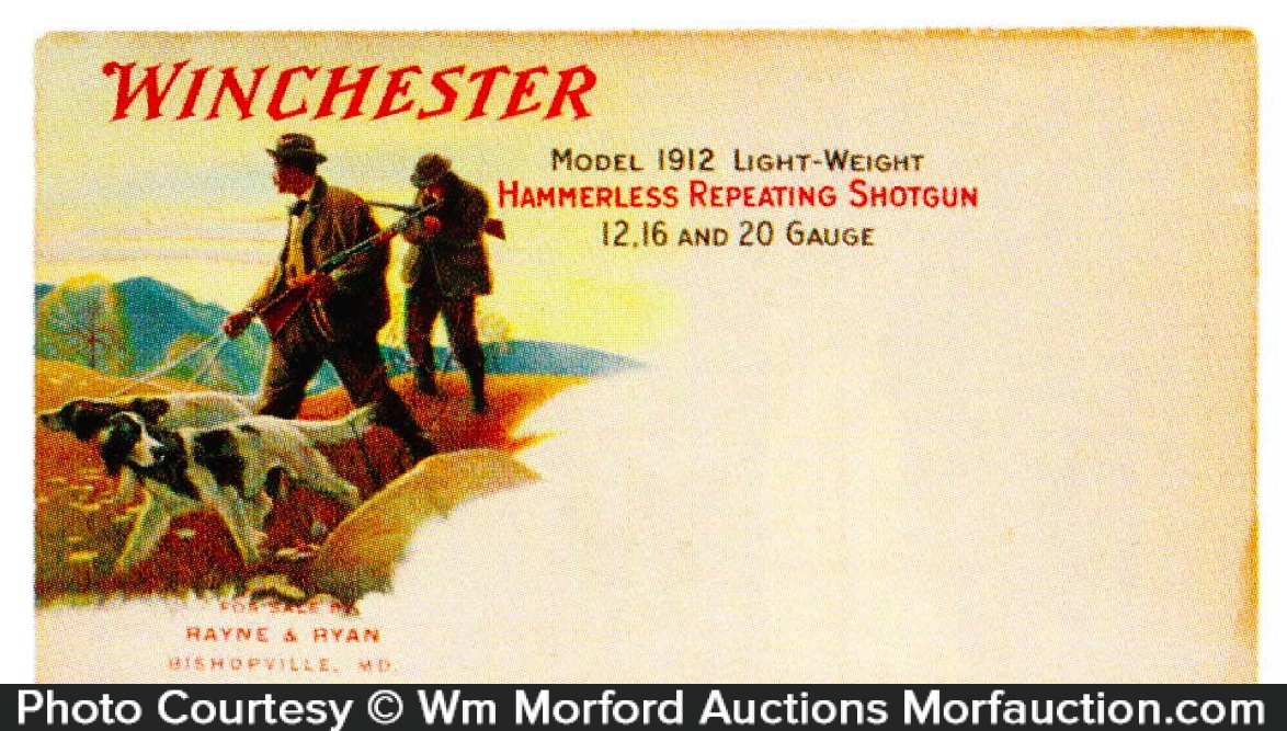 Winchester Envelope Cover