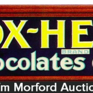 Ox Heart Chocolate Sign