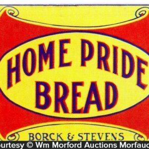 Home Pride Bread Sign