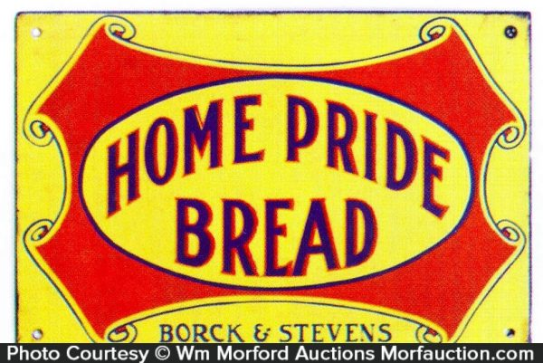 Home Pride Bread Sign