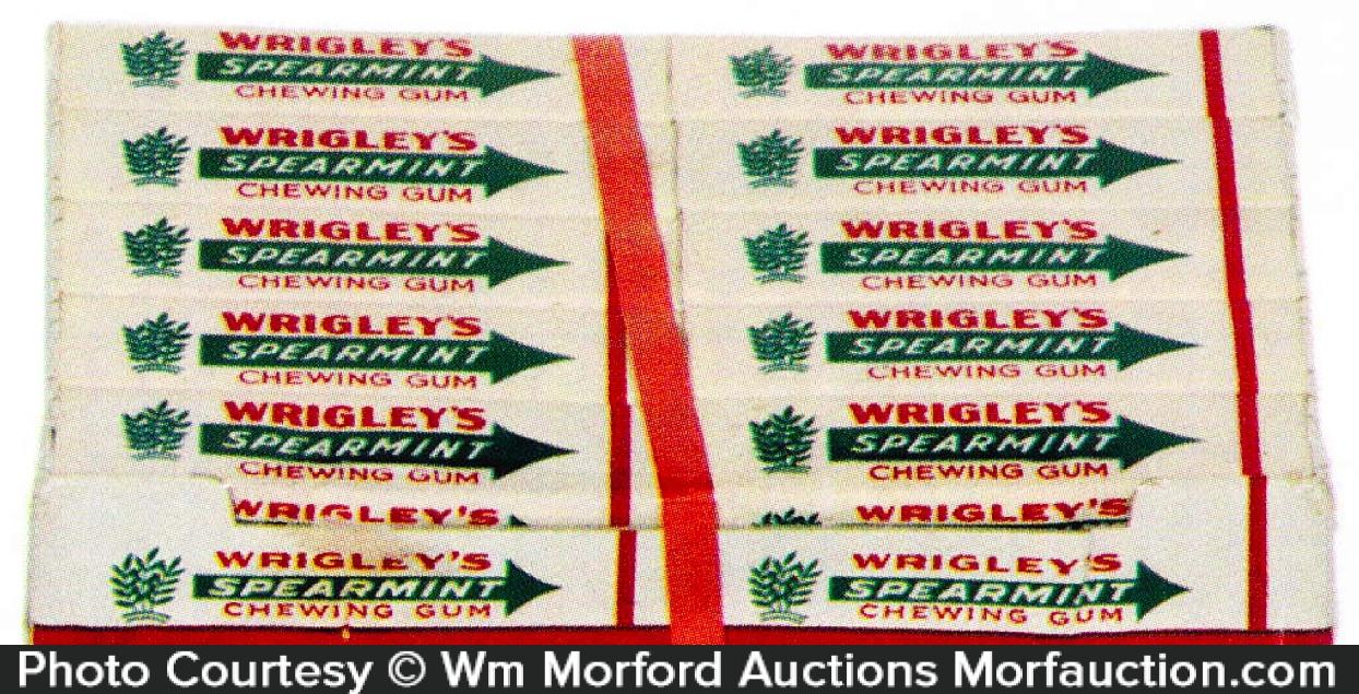 Wrigley's Spearmint Gum Carton