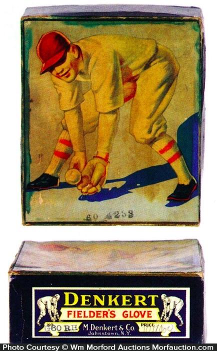 Denkert Baseball Glove Box