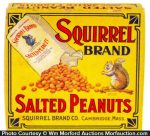 Squirrel Peanuts Box
