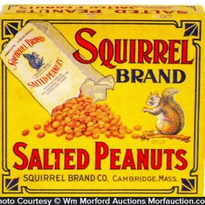 Squirrel Peanuts Box