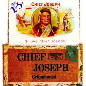 Chief Joseph Cigar Box