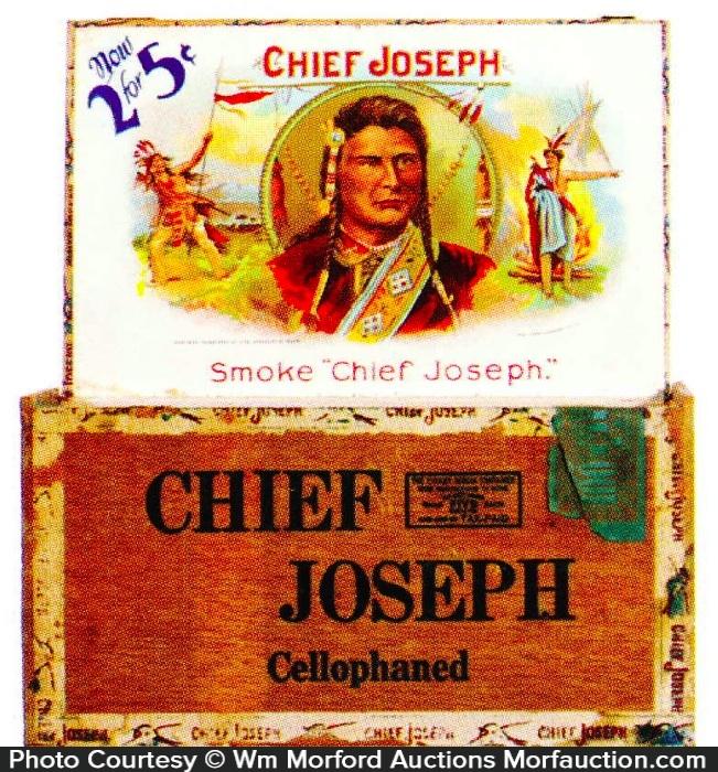 Chief Joseph Cigar Box