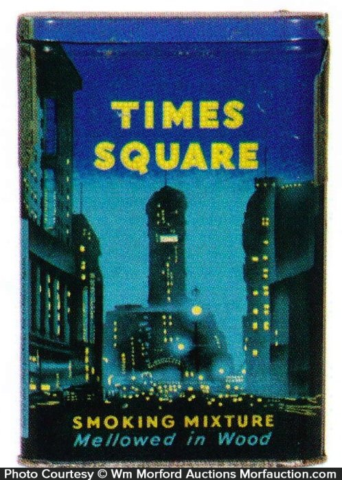 Times Square Tobacco Tin