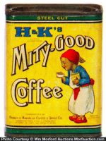 H & K's Mity-Good Coffee Can