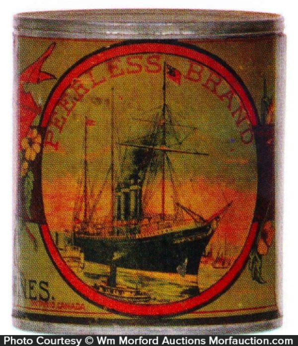 Peerless Tomatoes Tin Can
