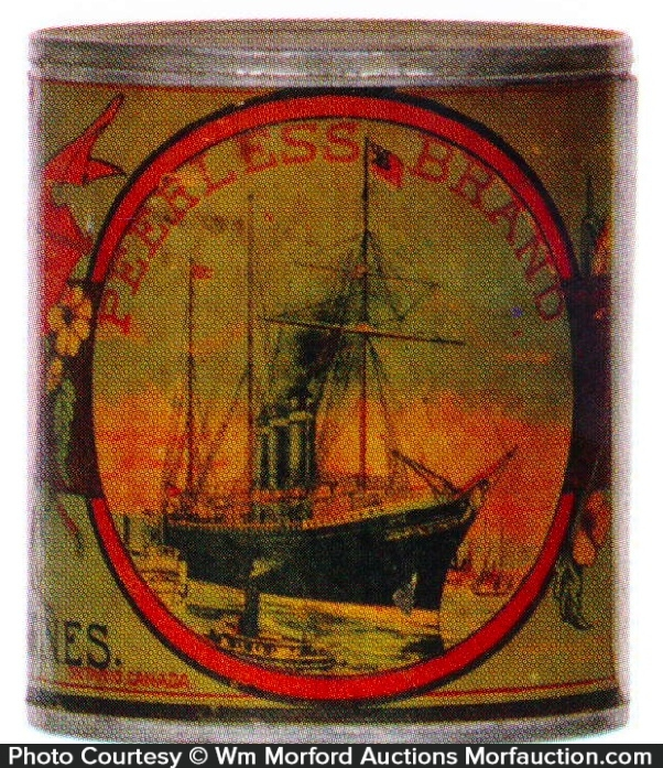 Peerless Tomatoes Tin Can