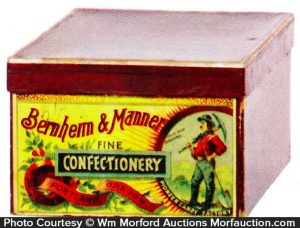 Bernheim & Manner Confectionary Box