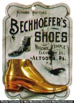 Bechhoefer's Shoes Match Holder