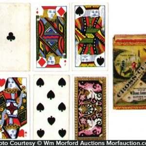 Duke's Cross Cut Cigarettes Cards
