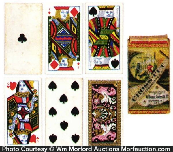 Duke's Cross Cut Cigarettes Cards