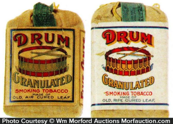 Drum Tobacco Pouches
