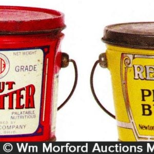 Vintage Peanut Butter Pails