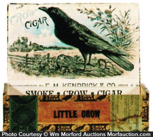 Crow Cigar Box