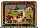 Miniature Karnak Rug