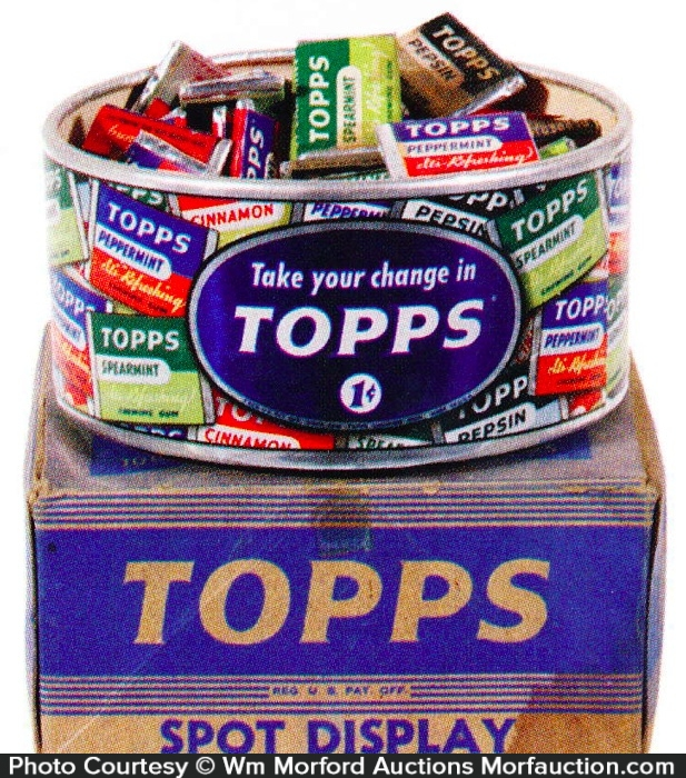 Topps Gum Spot Display
