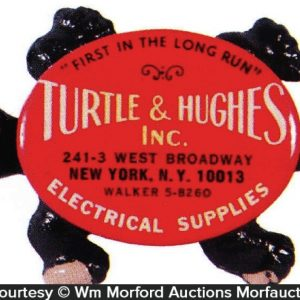 Turtle & Hughes Advertising Turtle