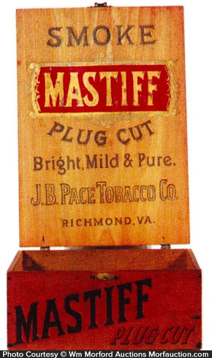 Mastiff Tobacco Box
