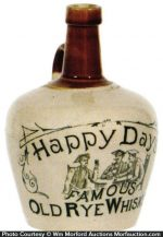 Happy Days Whiskey Jug