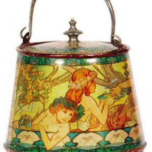 Mucha Art Nouveau Tin