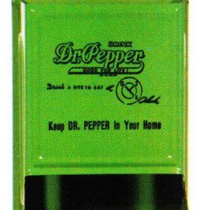 Dr. Pepper Match Holder