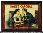 Sweet Caporal Cigarettes Sign