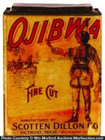 Ojibwa Fine Cut Tobacco Tin