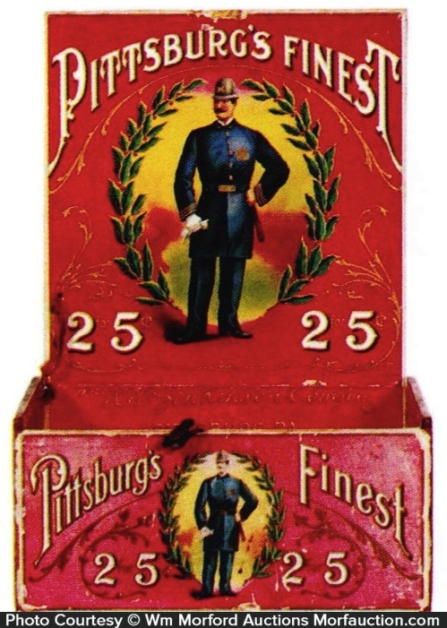 Pittsburg's Finest Cigar Box