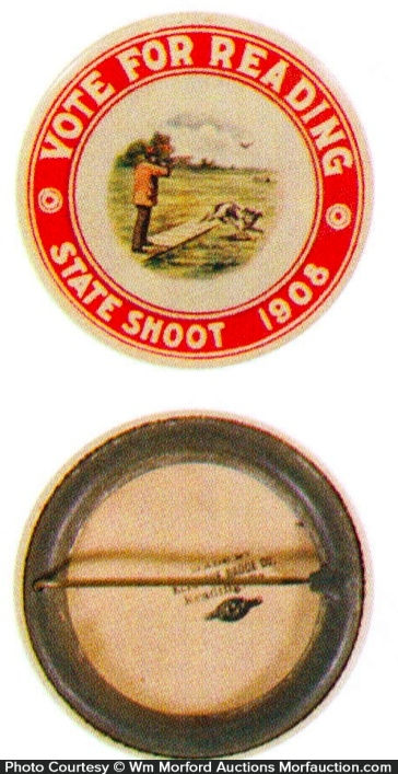 Vote For Reading Shooting Badge