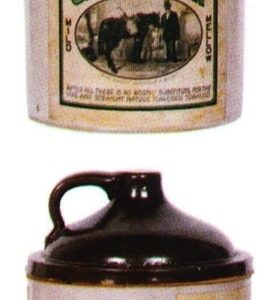 Old Green River Tobacco Jar