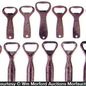 Vintage Brewery Bottle Openers