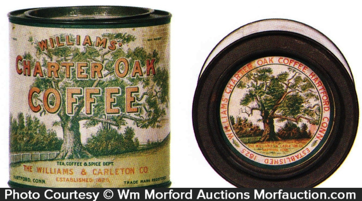 Charter Oak Coffee Can