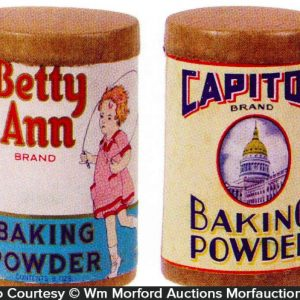 Vintage Baking Powder Boxes