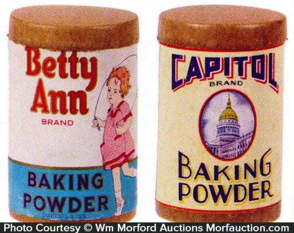 Vintage Baking Powder Boxes