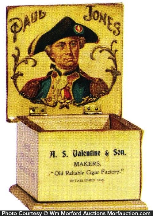 Paul Jones Cigars Box