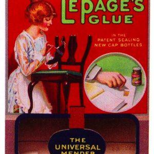 Le Page's Glue Sign