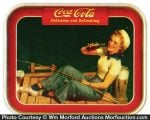 Coca-Cola Sailor Girl Tray