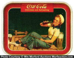 Coca-Cola Sailor Girl Tray